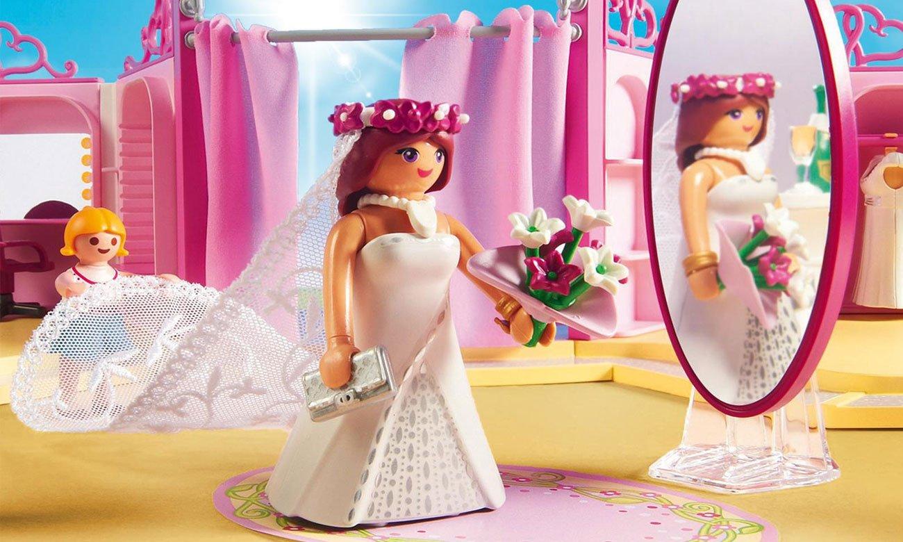 salon sukni ślubnych playmobil