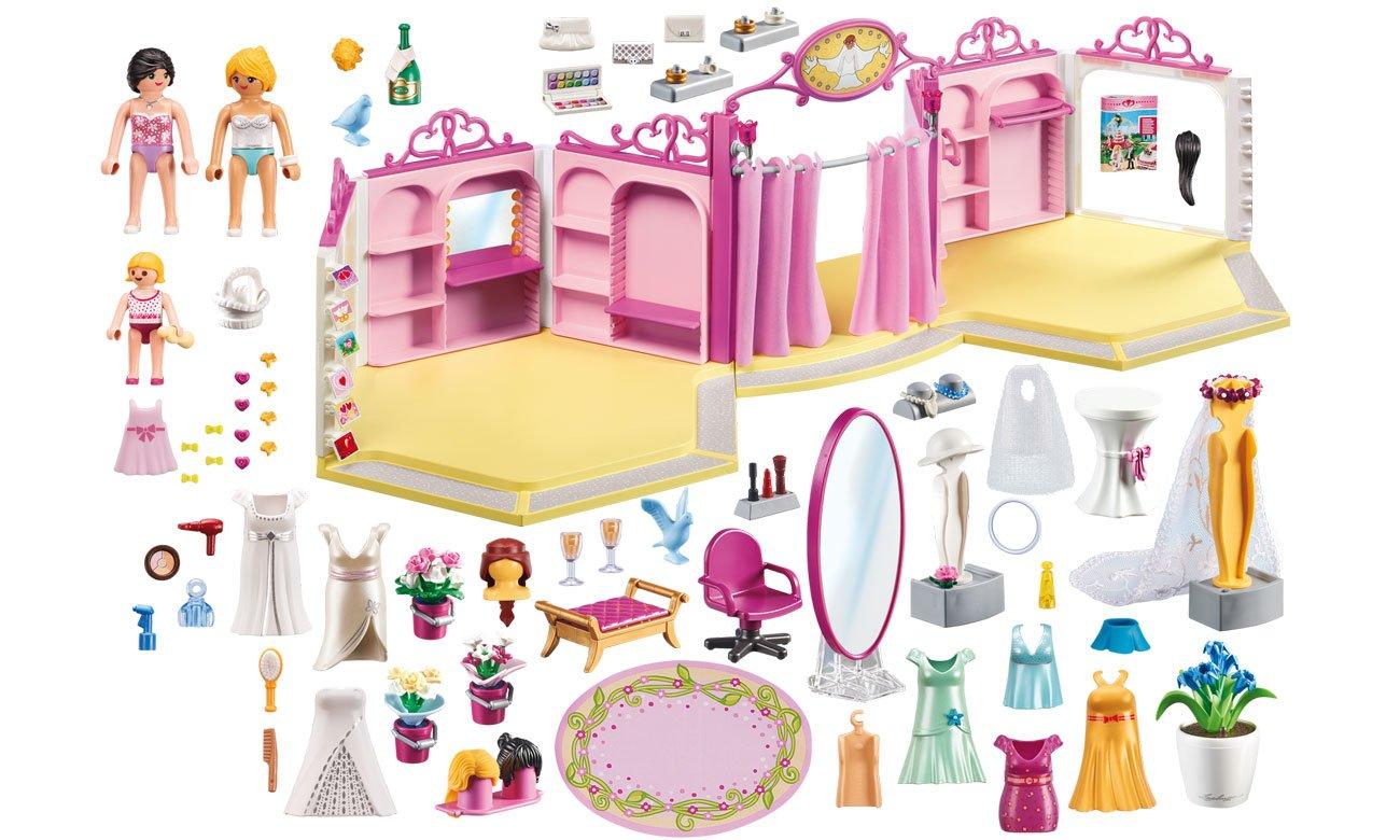 dla dziewczynki salon ślubny playmobil