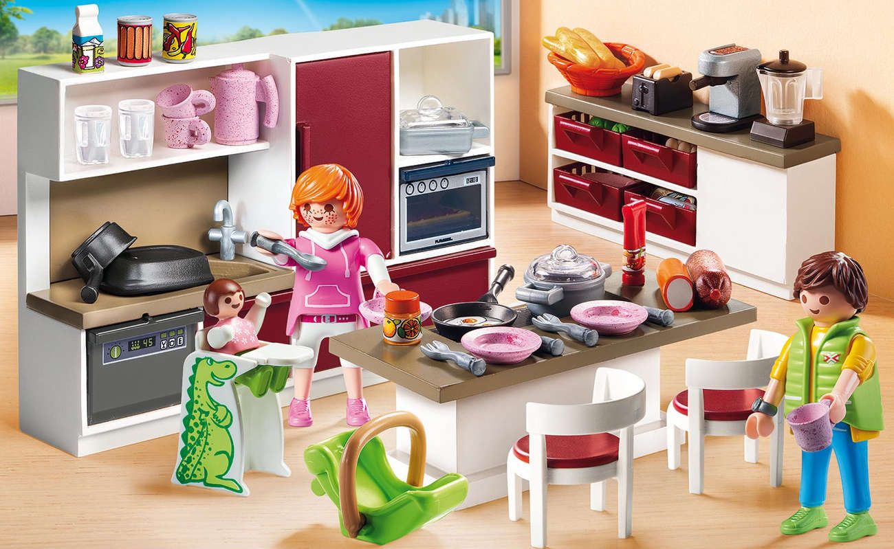 PLAYMOBIL® Duża rodzinna kuchnia 9269