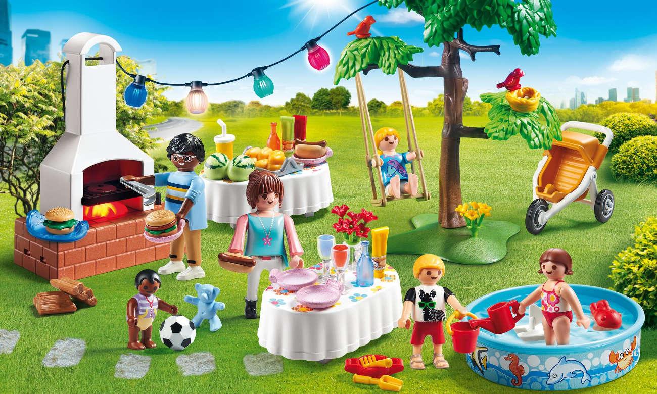 PLAYMOBIL Przyjęcie w ogrodzie