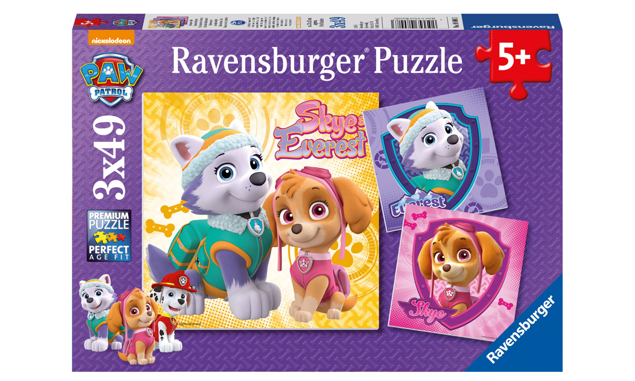 Paw Patrol Puzzle RAP080083