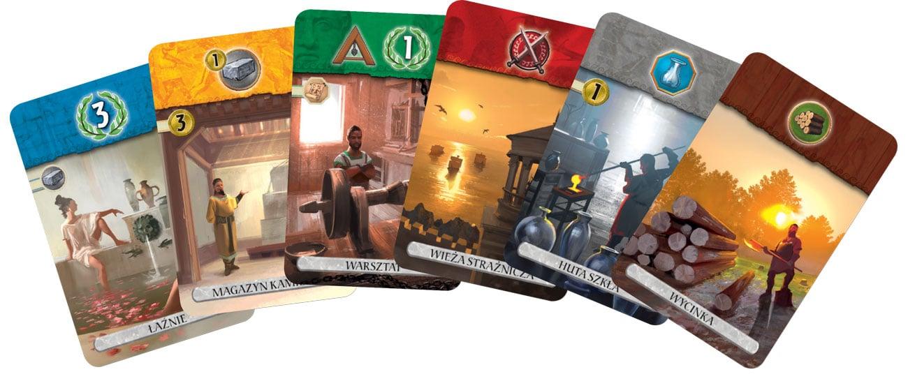 Karty do gry Rebel 7 Cudów Świata: Pojedynek