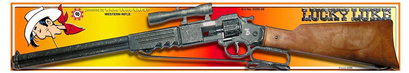 Sohni-Wicke Lucky Luke rewolwer Arizona,8 strzałów  0395-08