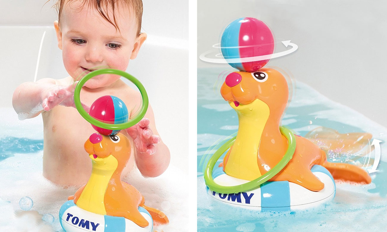 Tomy Pływająca Foczka Sandy E72609