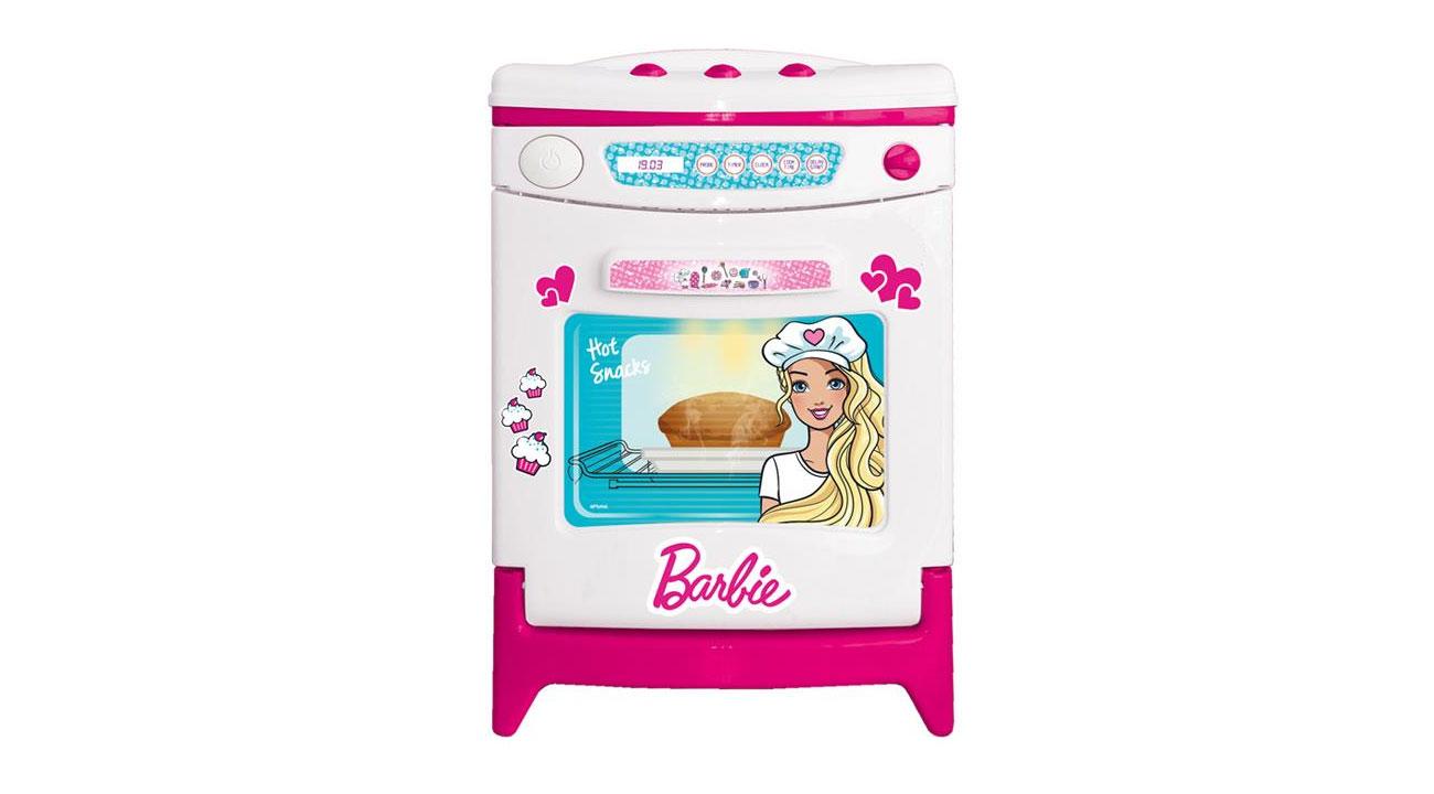 Dolu zabawkowy piekarnik z dźwiękiem barbie