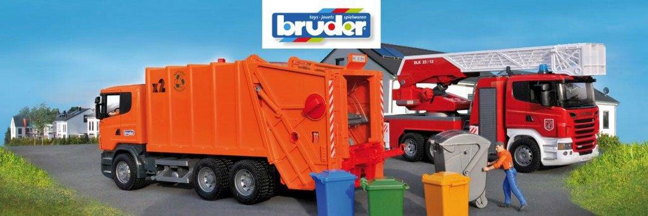 Pojazdy BRUDER