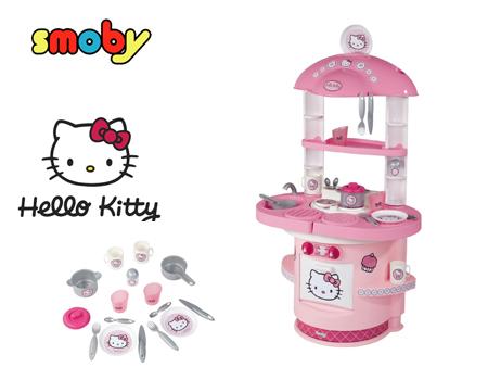 Smoby kuchnia hello kitty agd dla dzieci sklep internetowy - Cuisine smoby hello kitty ...