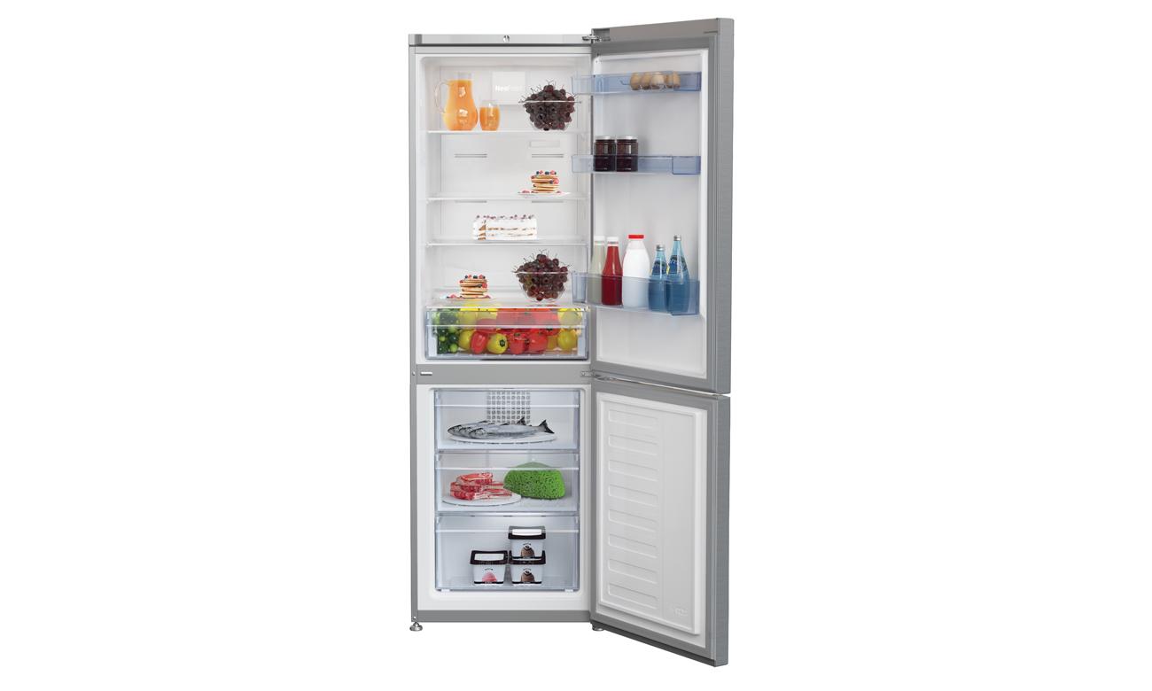 Alarm otwartych drzwi w lodówce Beko CNA365KC0X