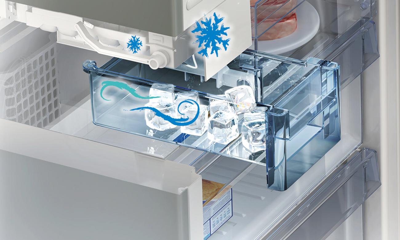 Aktywny jonizator w lodówce Beko GN162320X
