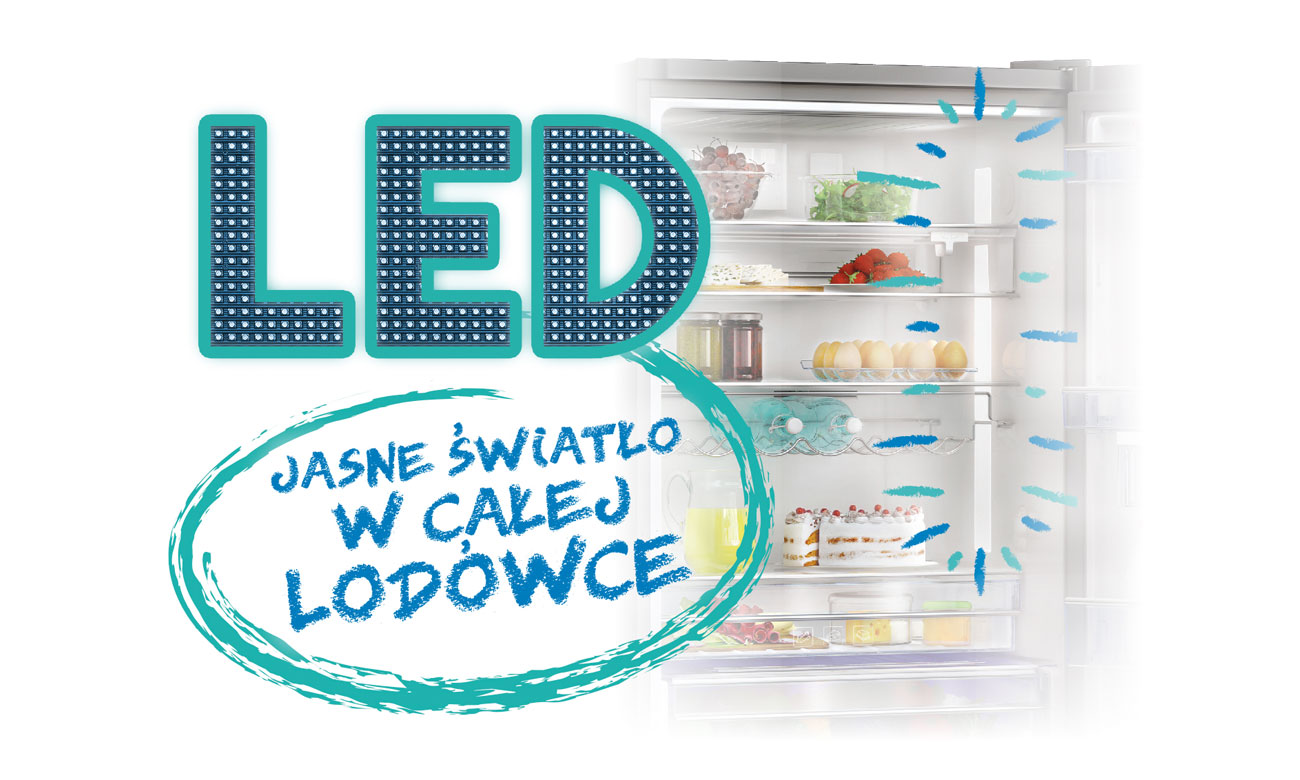 Active Fresh Blue Light w lodówce Beko GN162330X