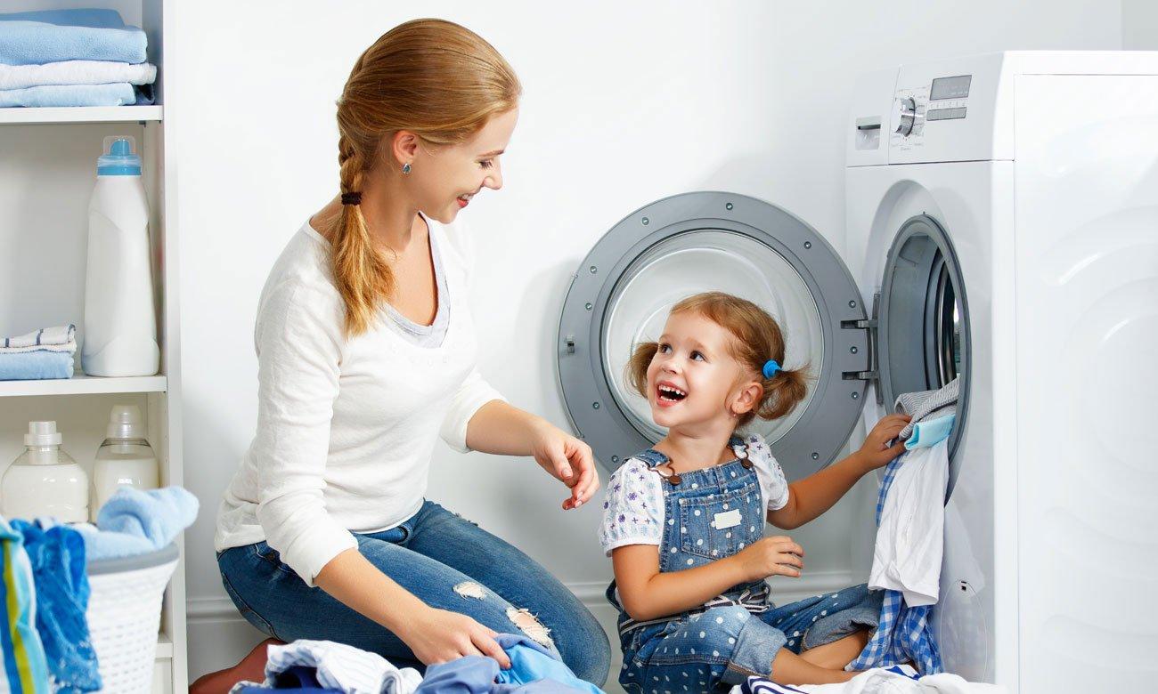 Zabezpieczenie przed dziećmi w pralce Beko WRE5511BWW