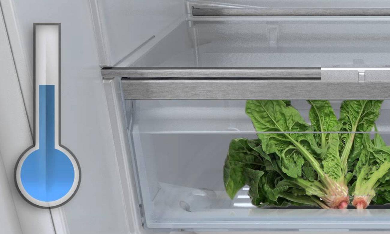 Świeżość, dzięki FreshSense w lodówce Bosch KIL82AF30