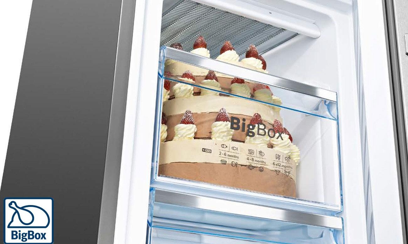 BigBox w lodówce Bosch KIN86KS30