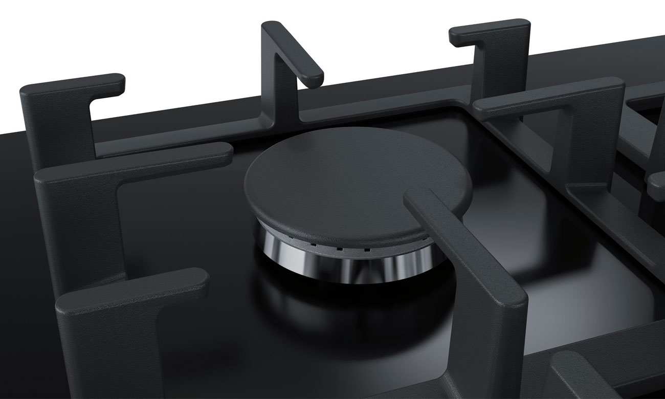 Zabezpieczenie przeciwwypływowe gazu w płycie gazowej Bosch PPP6A6M90