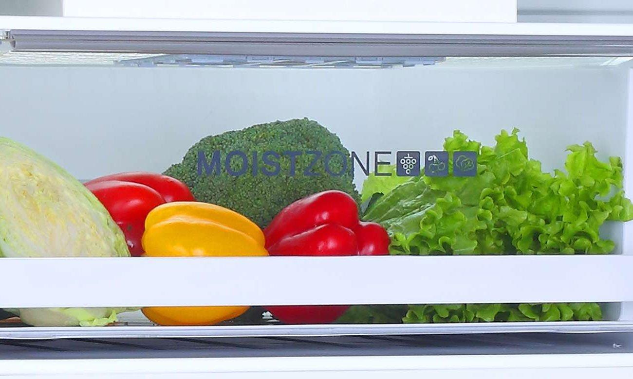 Świeżość warzyw i owoców, dzięki szufladzie Moist Zone w lodówce Haier A3FE632CSJ