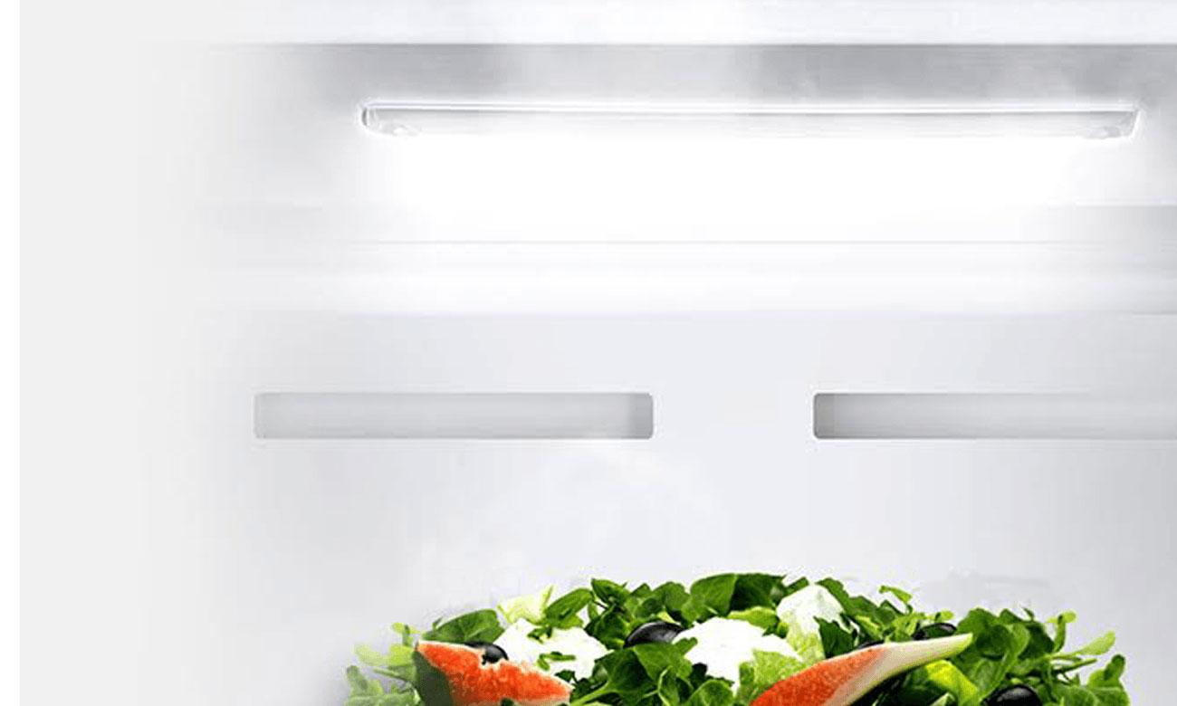 Oświetlenie LED w lodóce Haier HRF-450DS6