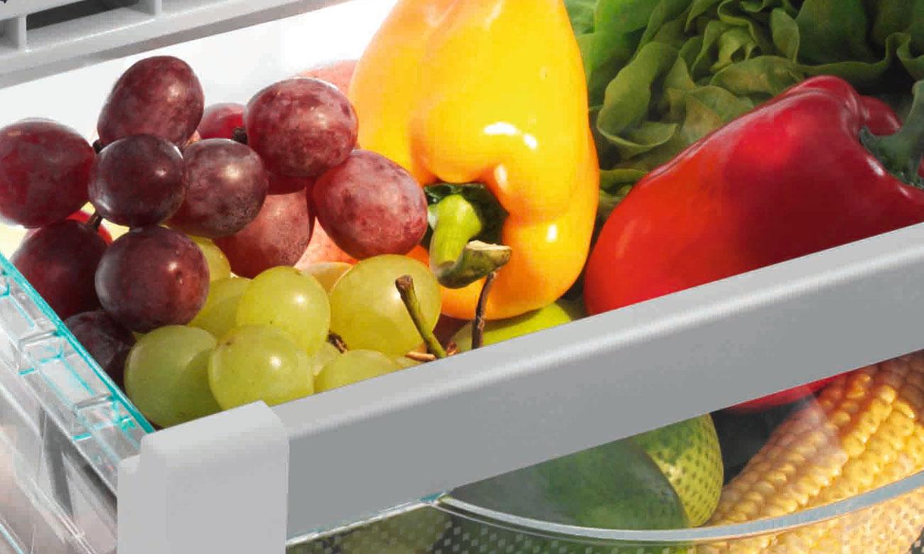 Szuflada nawarzywa i owoce w lodówce Haier HTF-456DN6