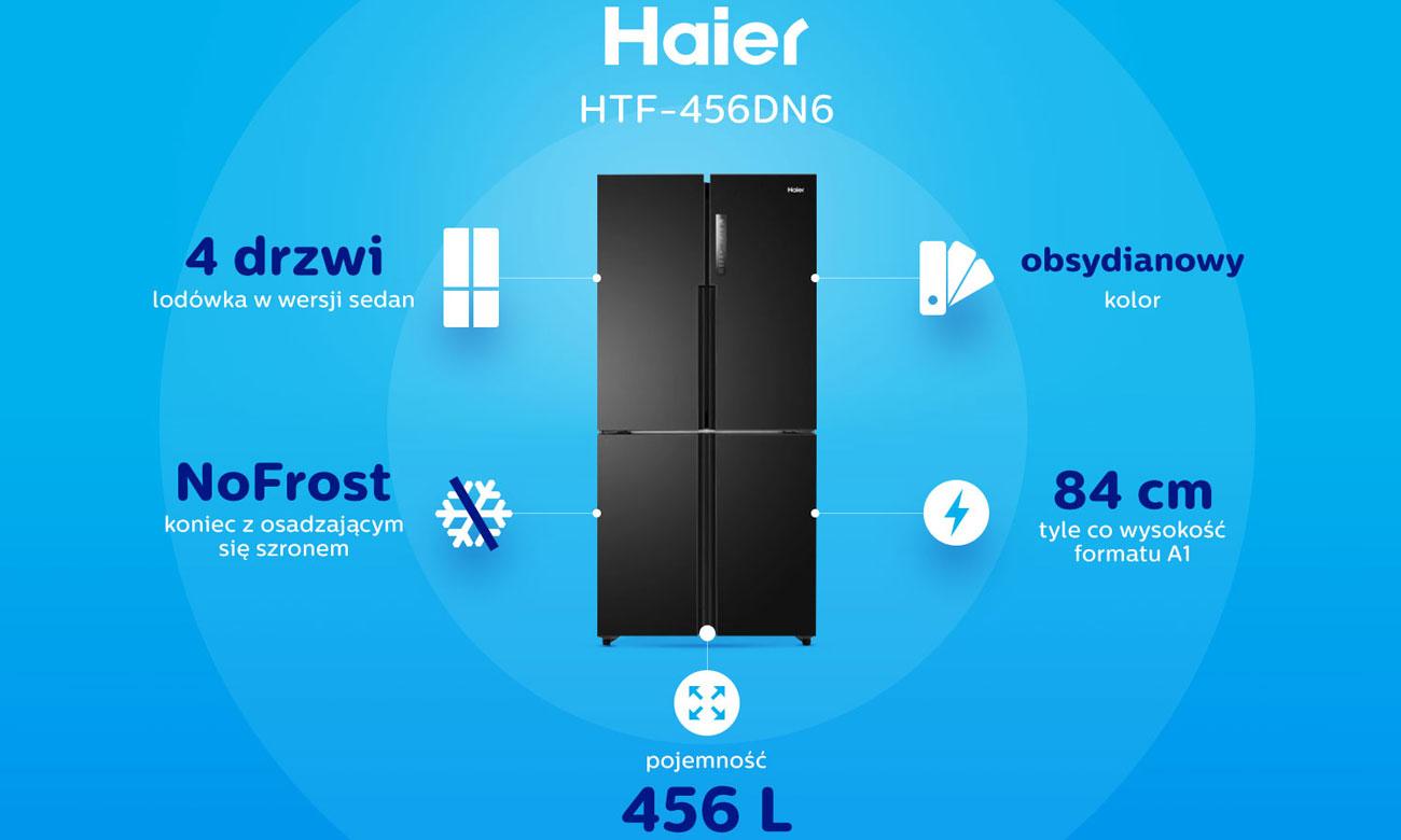 Lodówka Haier HTF-456DN6