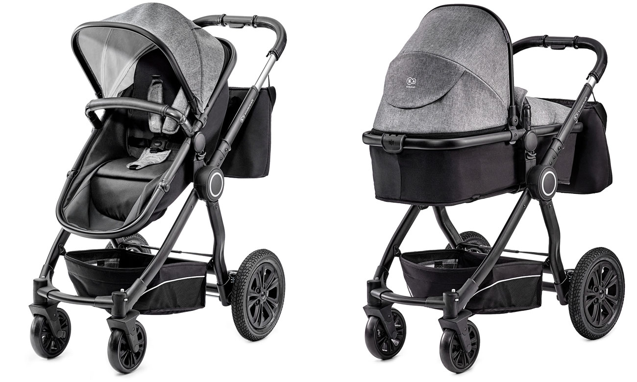 KinderKraft Veo 3w1 Black/Grey