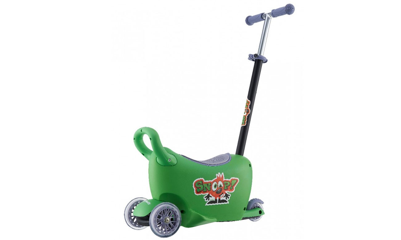 Jeździk Snoop 3w1 zielony