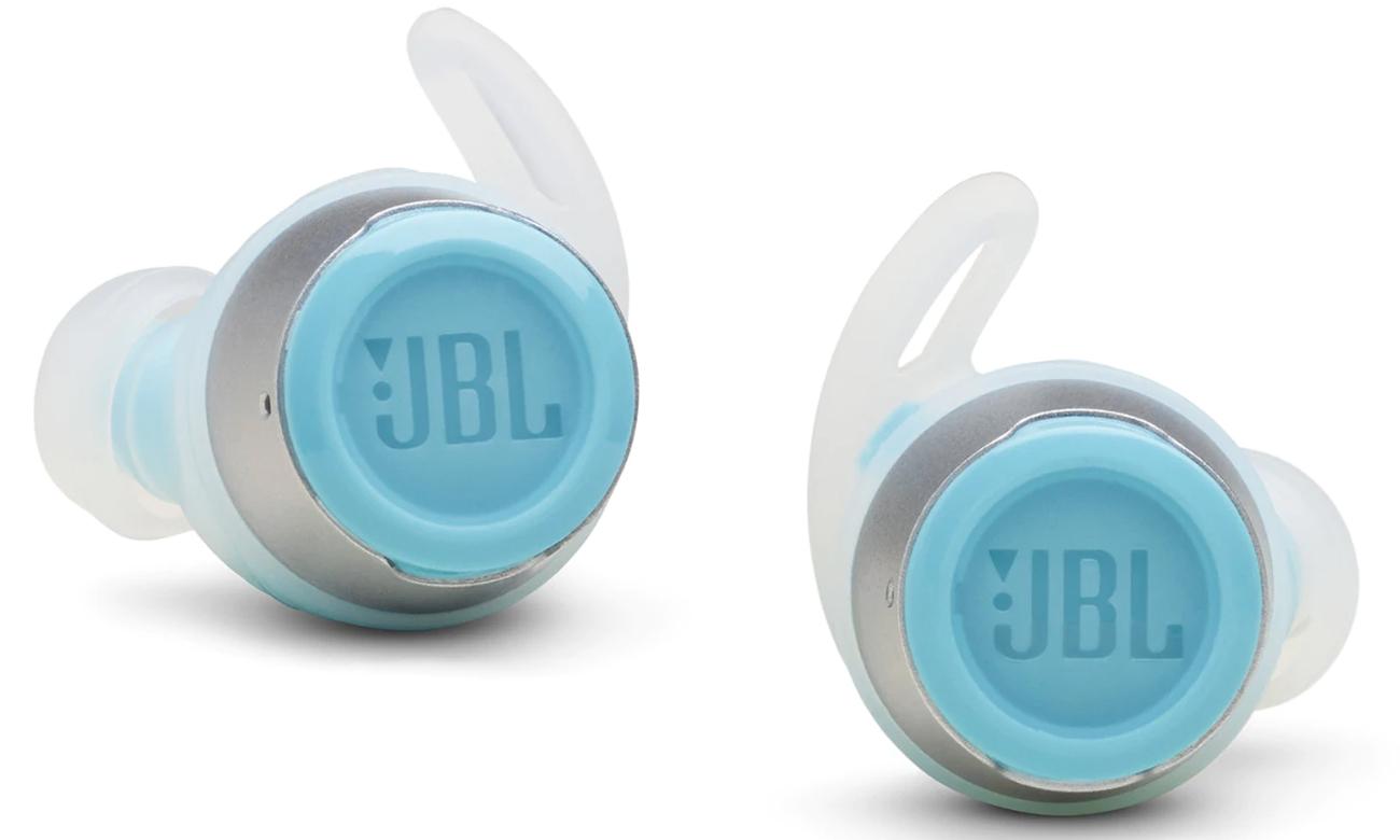 Małe słuchawki bezprzewodowe JBL Reflect Flow turkusowe