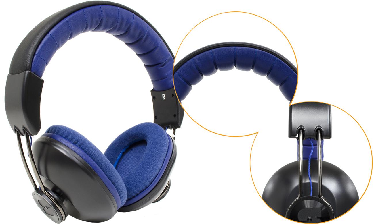 Słuchawki Snab Overtone HS-42M z odpinanym kablem
