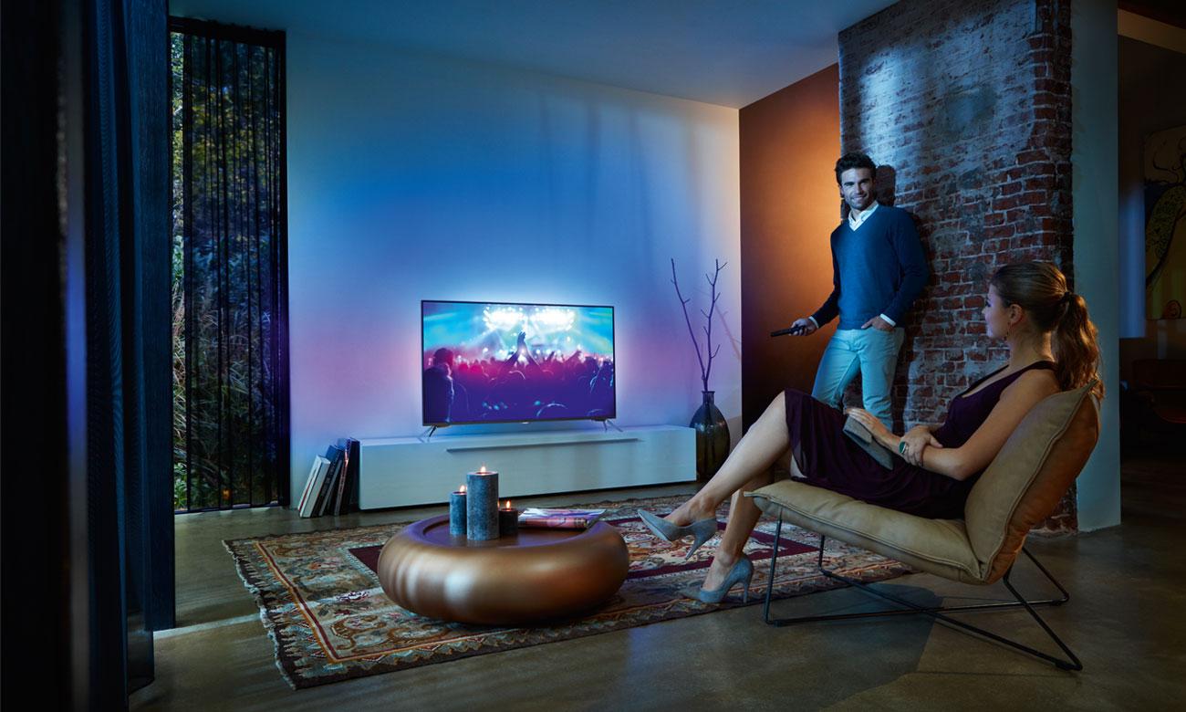 Telewizor Philips 43PUS6501 z technologią Ambilight