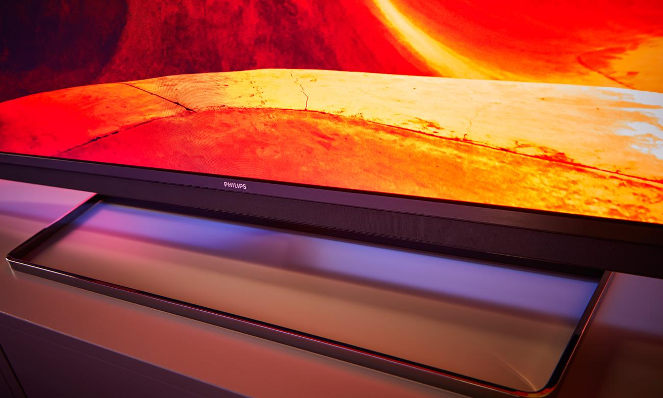 Czysty dźwięk w telewizorze Philips 55PUS7502