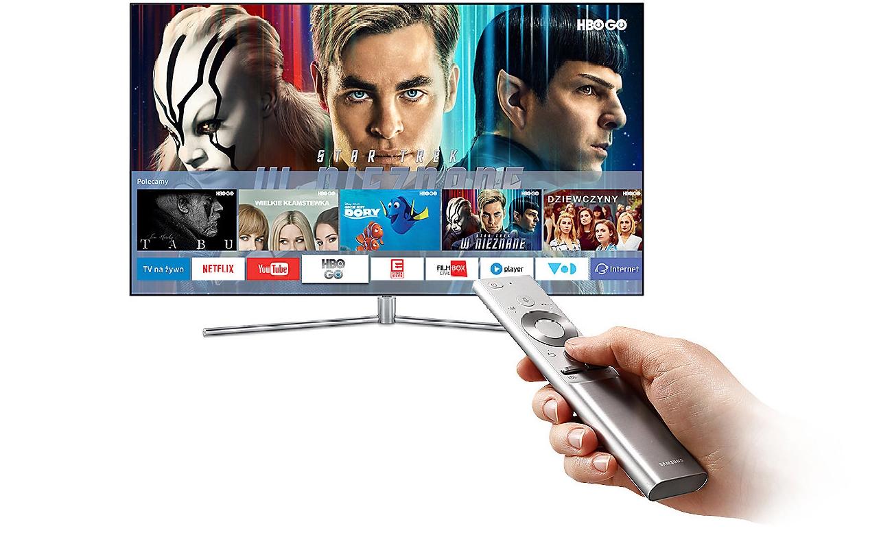 Telewizor Samsung UE43MU6102 z łącznością Wi-Fi
