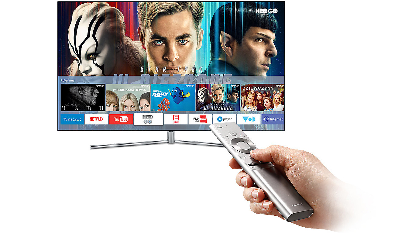 Telewizor Samsung UE55M6302 z łącznością Wi-Fi