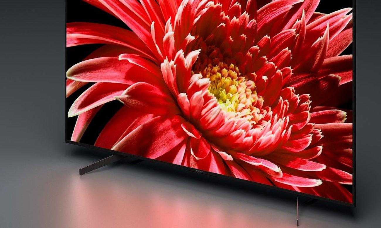 Jakośc 4K HDR w telewizorze KD-55XG8596 Sony