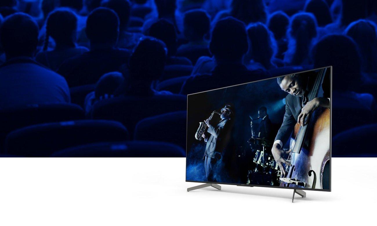 System dźwięku w telewizorze KD-75XG8596 Sony