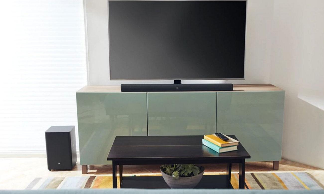 Czarna listwa głośnikowa do tv 2.1 JBL BAR 2.1