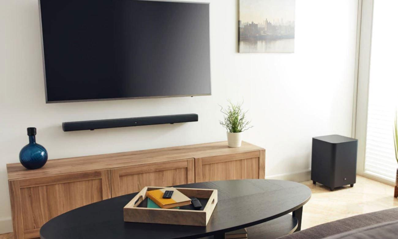 Czarna listwa głośnikowa do tv JBL BAR 3.1