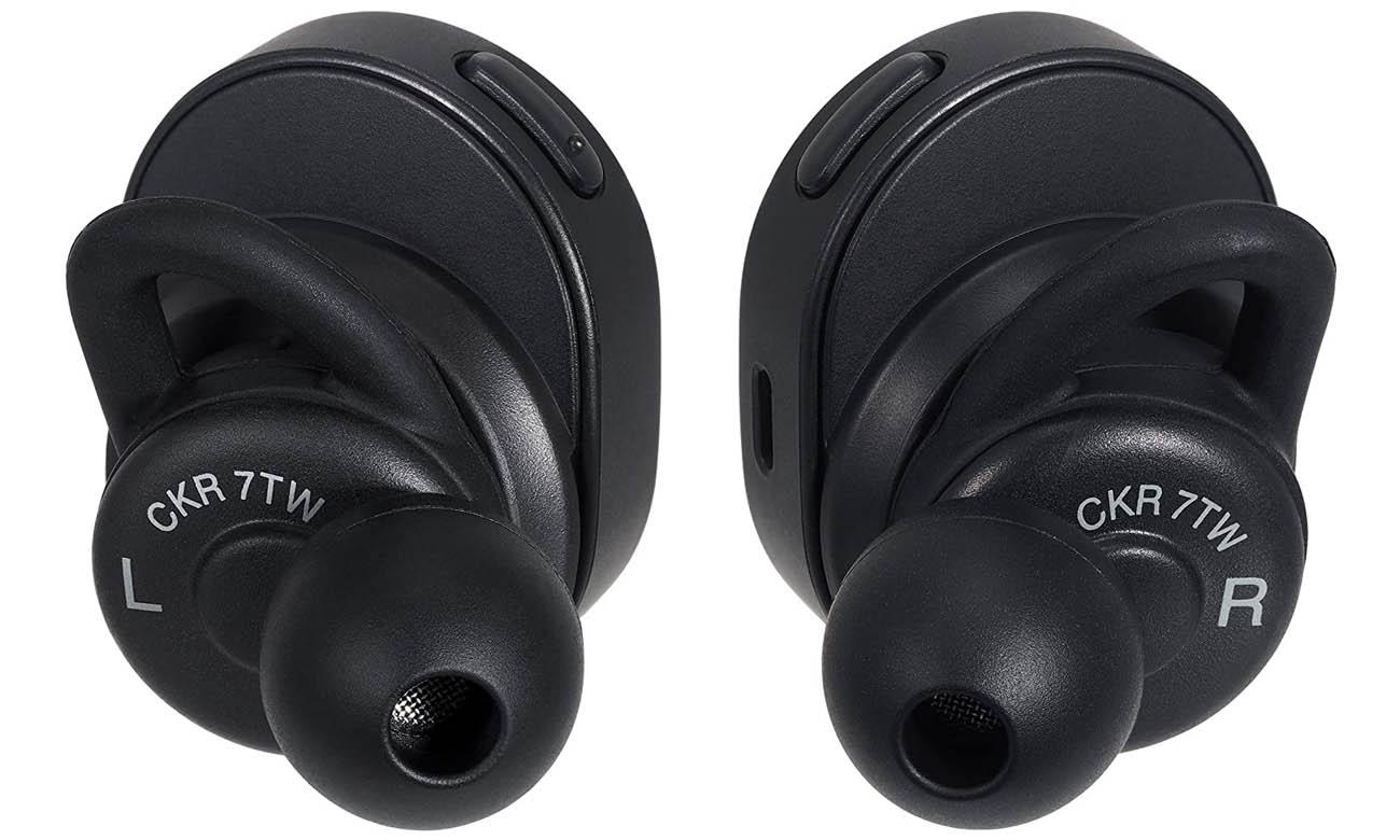Słuchawki bezprzewodowe Audio-Technica ATH-CKR7TWB czarne