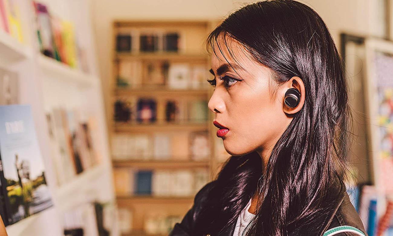Czarne Słuchawki True Wireless Audio-Technica ATH-CKR7TWB