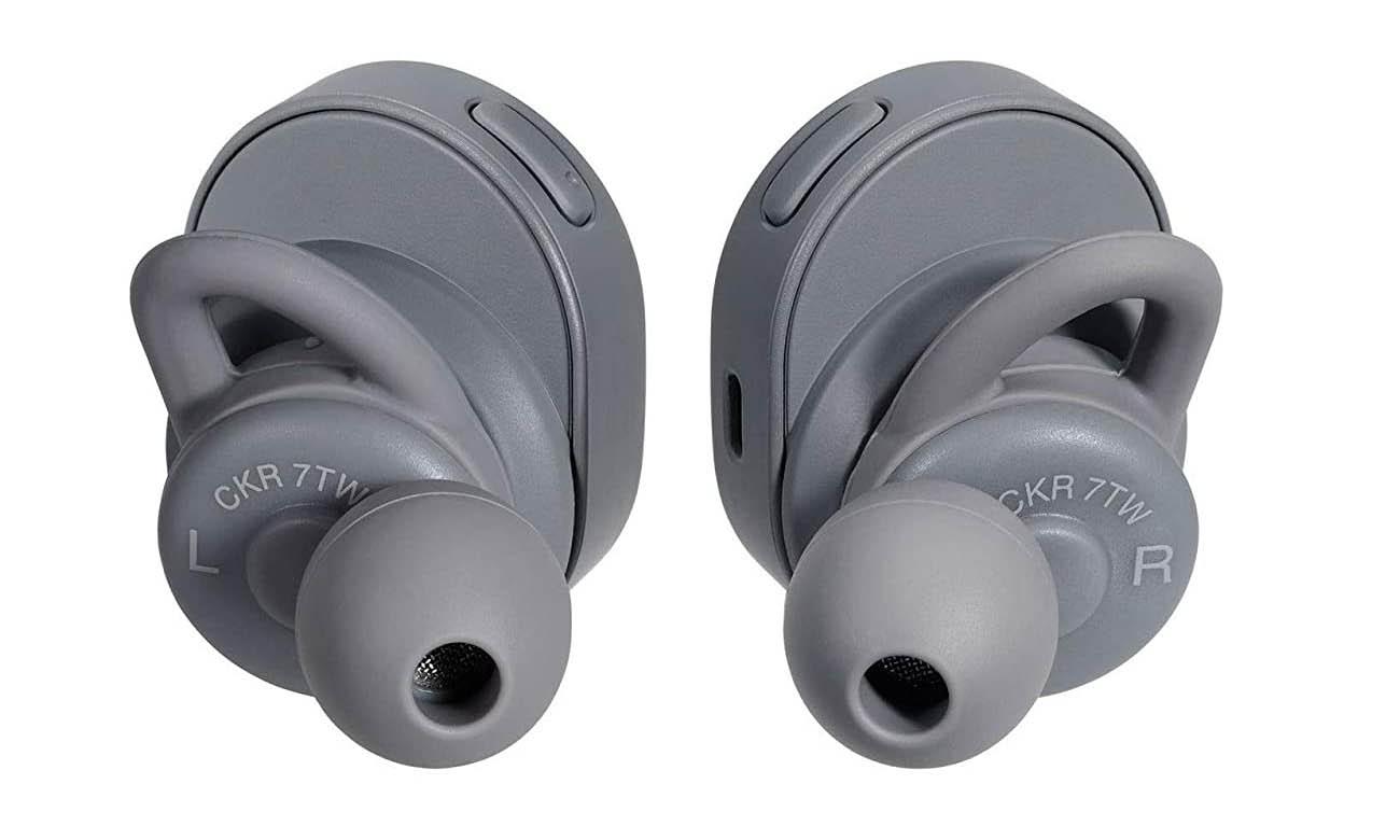 Szare Słuchawki True Wireless Audio-Technica ATH-CKR7TWG