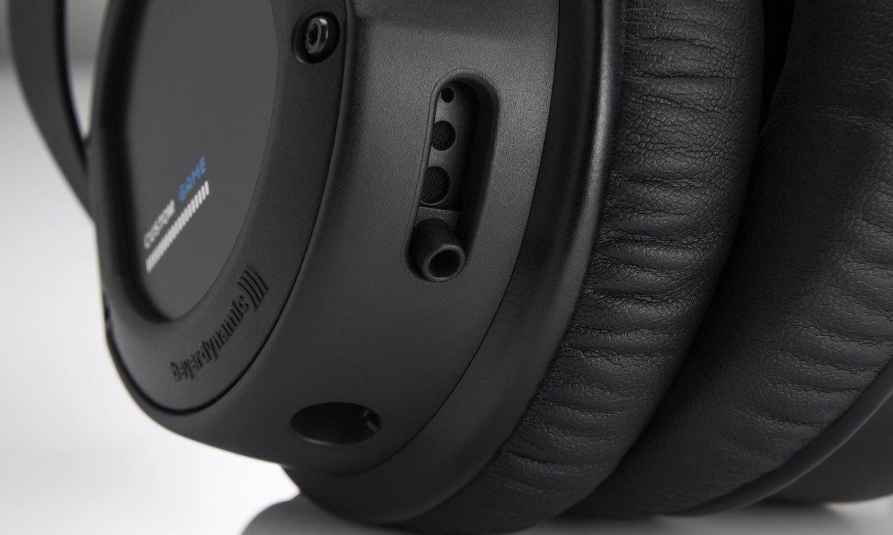 Regulacja basu w słuchawkach Beyerdynamic Custom Game