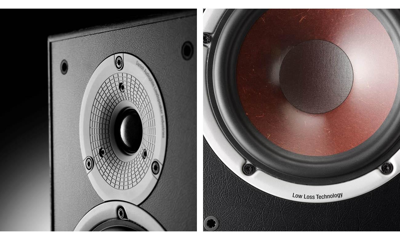 Kolumna podłogowa Dali Spektor 6 Black dźwięk bez zakłóceń