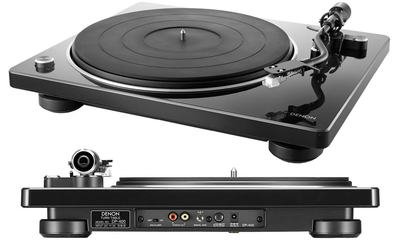 Gramofon Denon DP-400 black