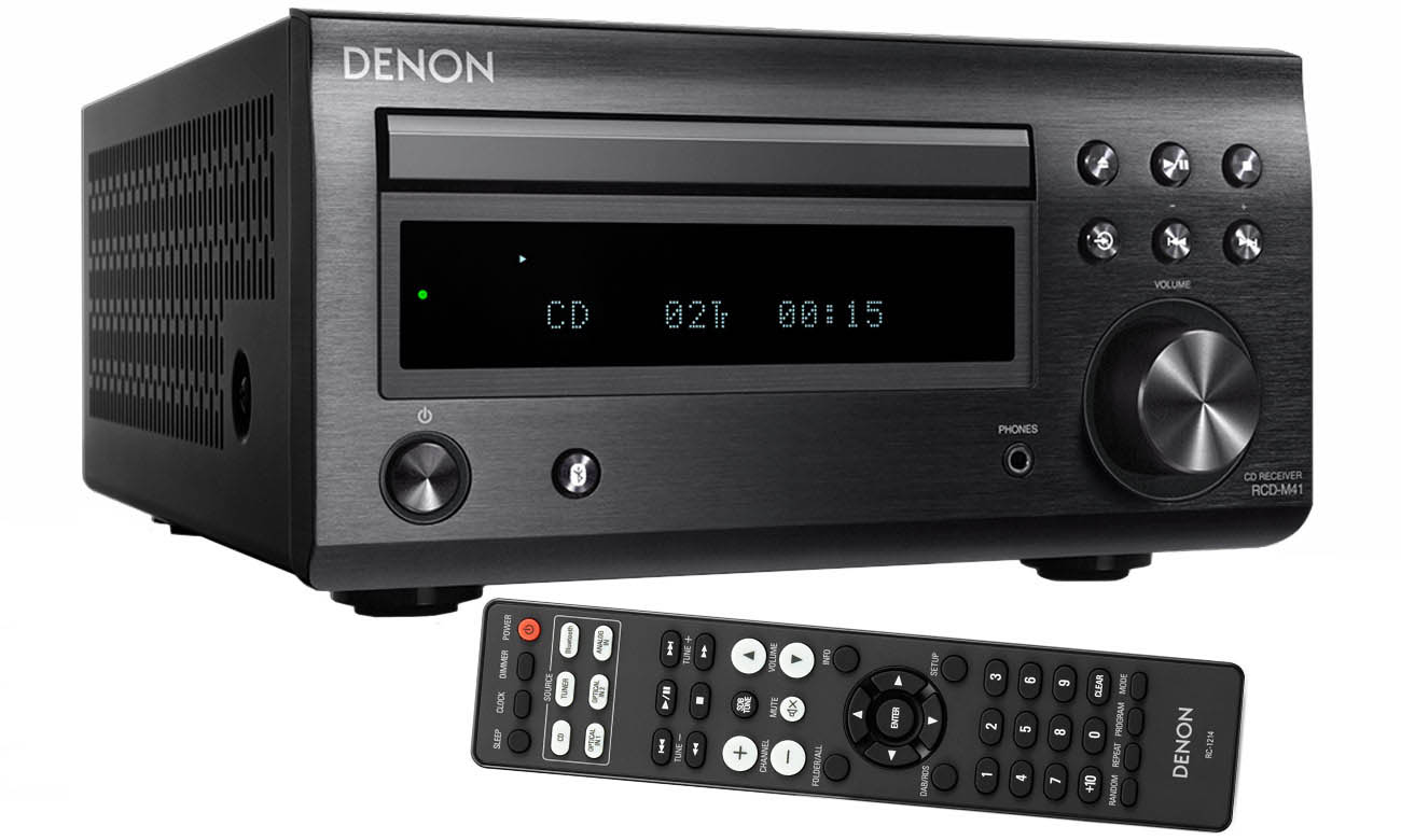 Amplituner stereofoniczny Denon RCD-M41 Black
