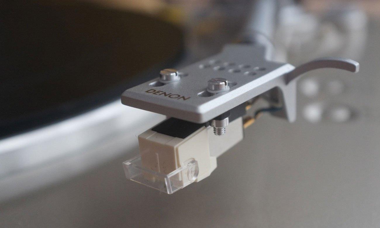Odtwarzanie płyt winylowych na gramofonie Denon DP-300F