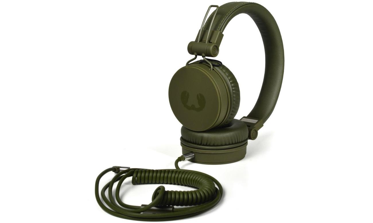 Słuchawki przewodowe Fresh 'n Rabel Caps Army zielone