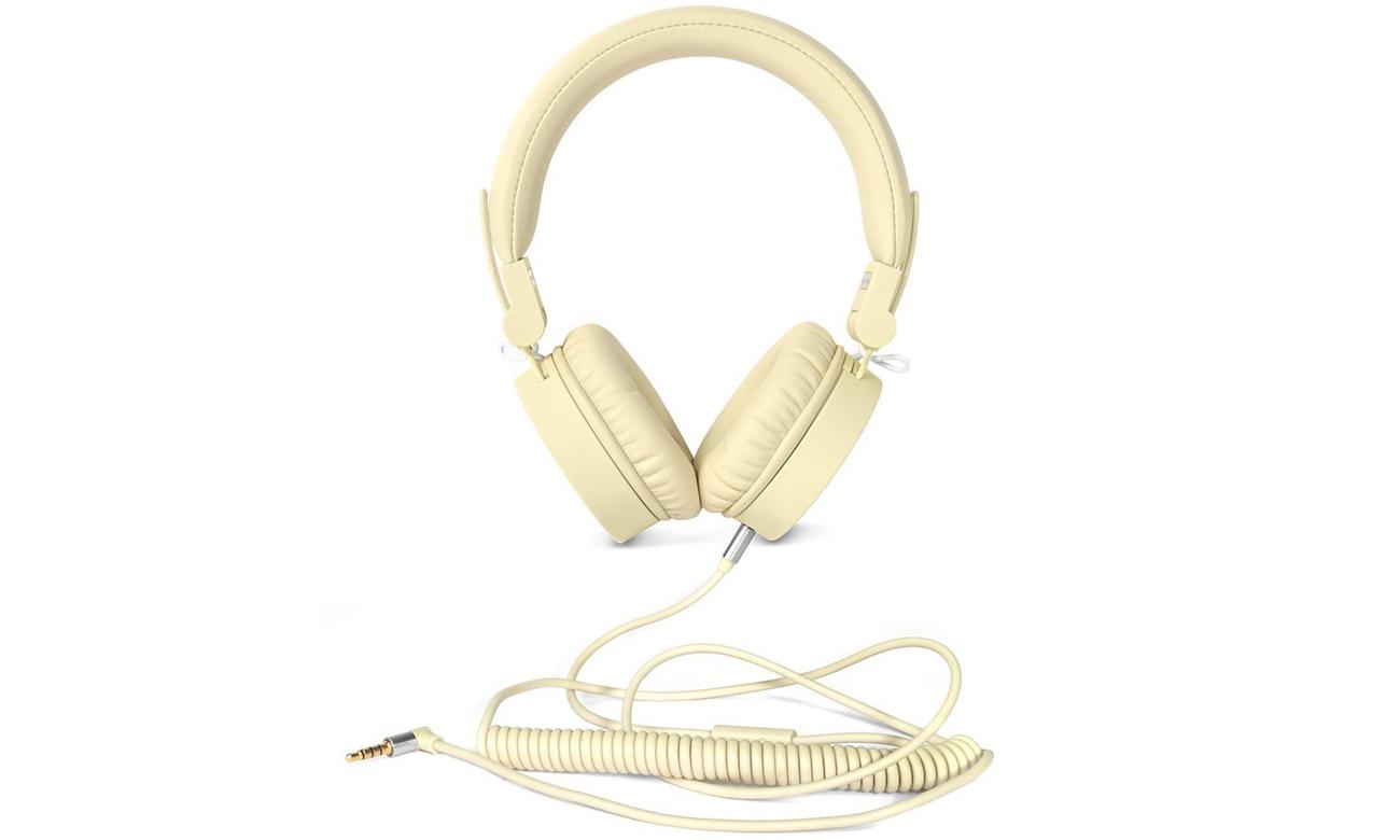 Słuchawki przewodowe Fresh 'n Rabel Caps Buttercup żółte