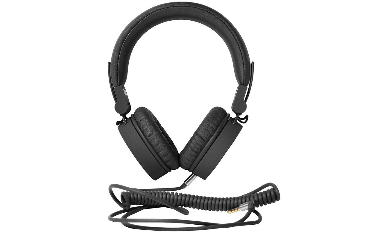 Słuchawki przewodowe Fresh 'n Rabel Caps Concrete ciemny szare