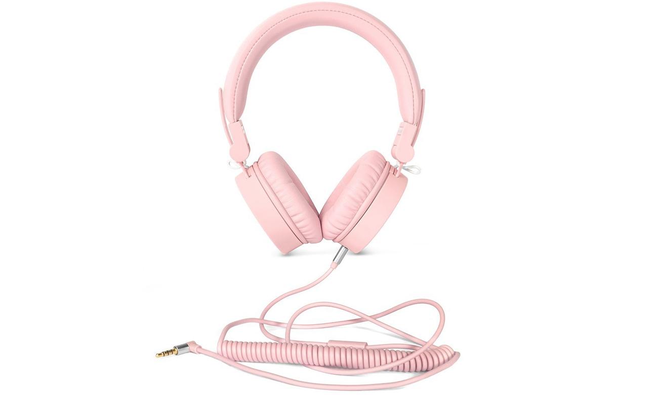 Słuchawki przewodowe Fresh 'n Rabel Caps Cupcake ciemny różowe