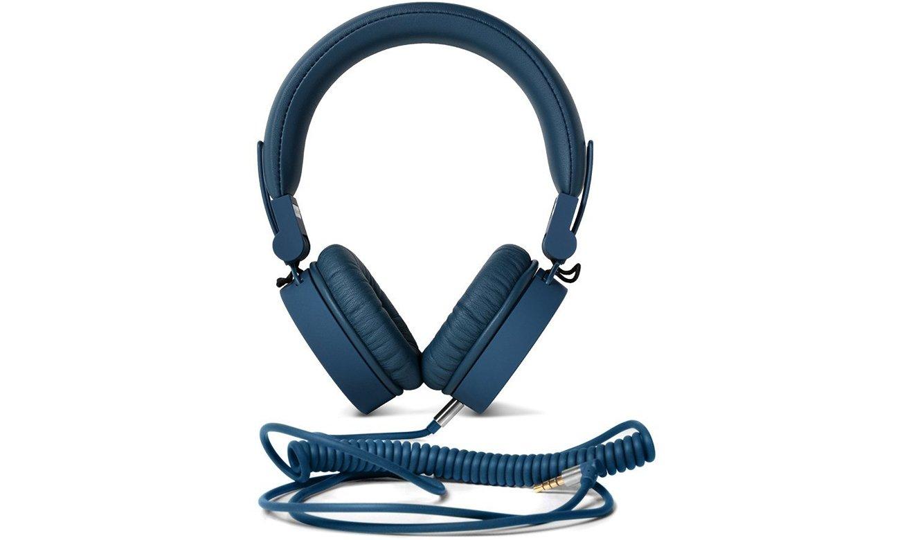 Słuchawki przewodowe Fresh 'n Rabel Caps Indigo ciemny niebieskie