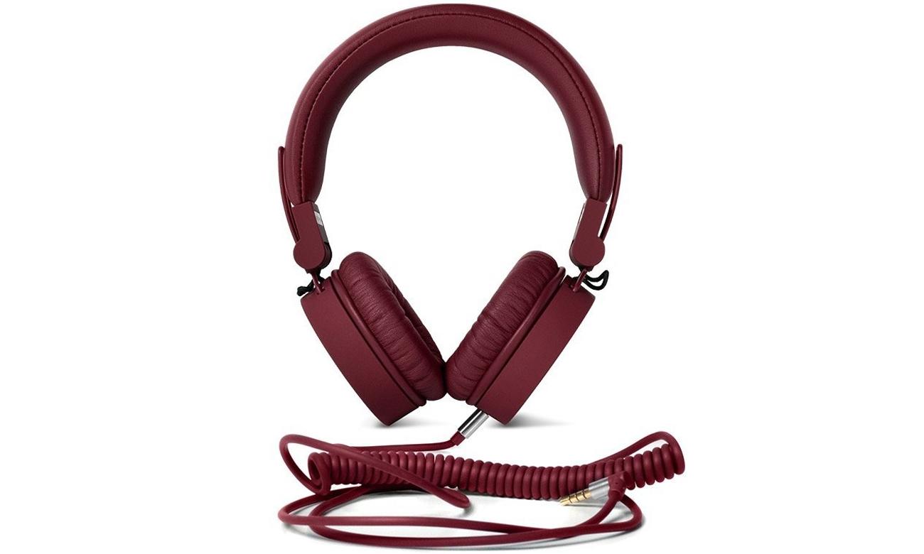 Słuchawki przewodowe Fresh 'n Rabel Caps Ruby ciemny czerwone