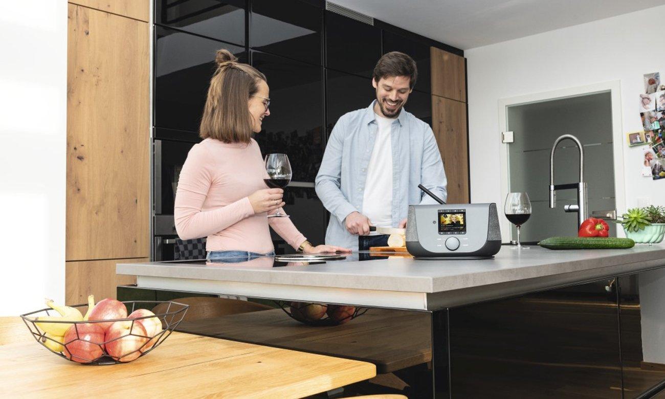 Hama DIR3300SBT połączenie z domową siecią Wi-Fi