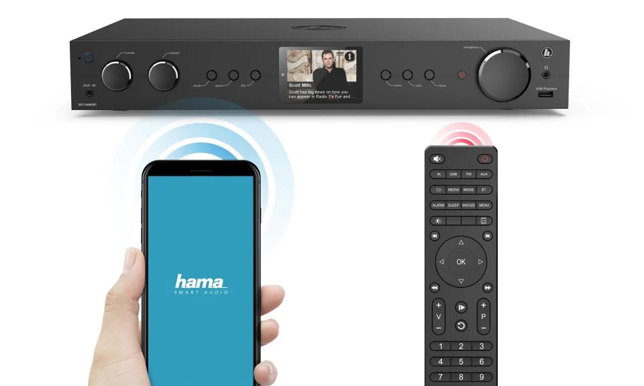 Radio internetowe Hama DIT2105SBTX